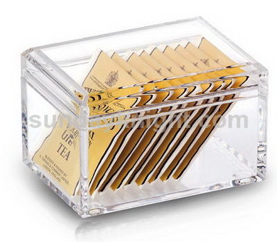 Acrylic box with lid