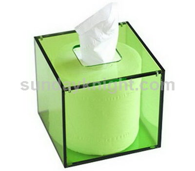 Green tissue box SKAB-012