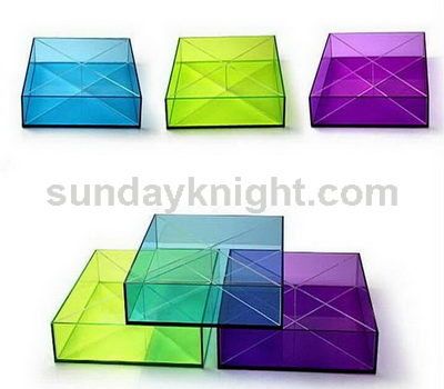 Colored acrylic boxes SKAB-013