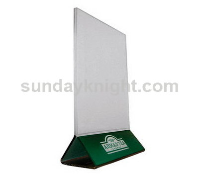 Acrylic menu holder SKAS-007