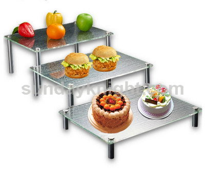 Acrylic buffet risers and stands SKFD-012