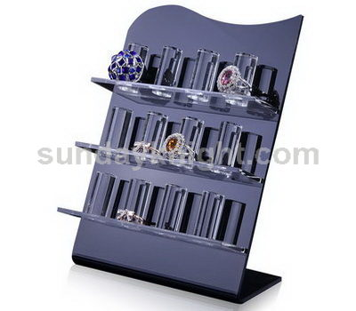 Acrylic ring display stand