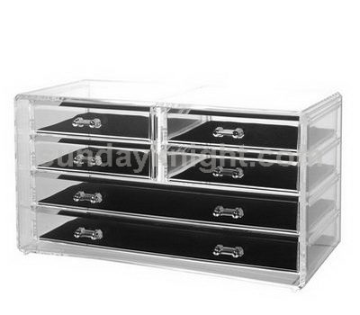 Acrylic jewelry drawers