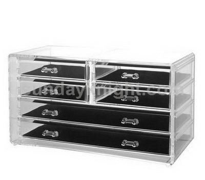 Acrylic jewelry drawers