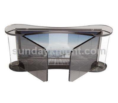 Window shape acrylic photo frame