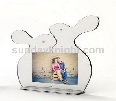 Rabbit clear photo frame SKPF-006