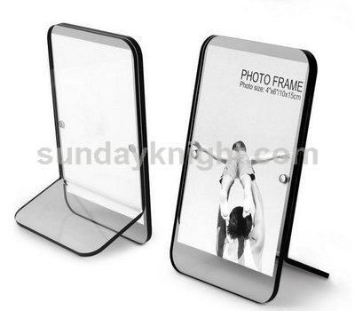 Colored edge acrylic photo frame SKPF-007