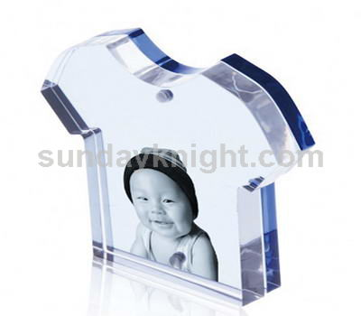 T shirt shape clear photo frame SKPF-008