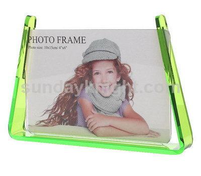 Transparent green photo frames SKPF-010