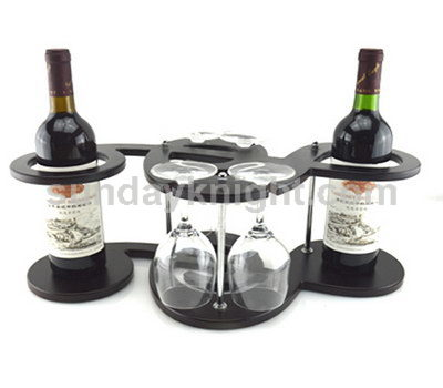 Commercial wine display racks