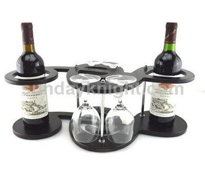 Commercial wine display racks