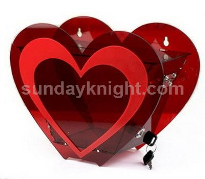 Heart shaped donation box SKAB-018