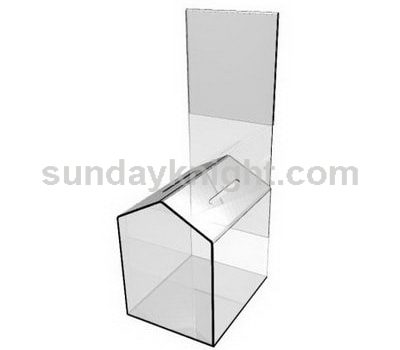 Clear donation box SKAB-019