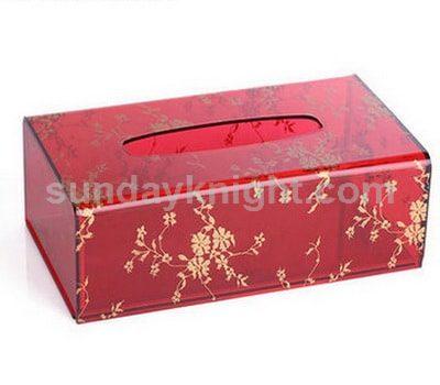 Red tissue box SKAB-030