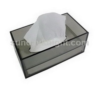 Acrylic tissue box holder SKAB-031