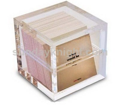 Clear acrylic boxes with lids SKAB-032