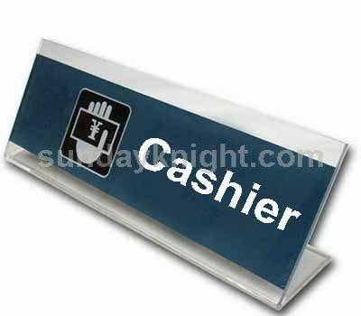 Cashier sign SKAS-012