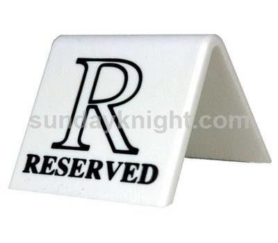 Reserved table signs SKAS-013