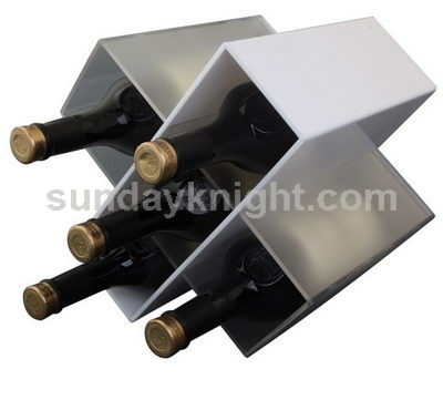 5 bottle wine rack