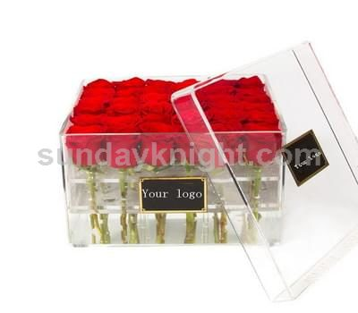 Acrylic rose box SKAB-036