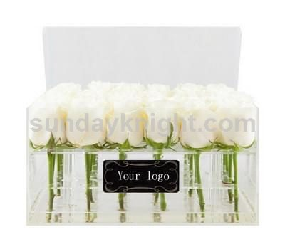 Acrylic rose box supplier