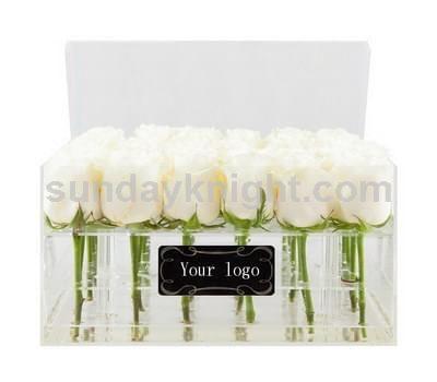 Acrylic rose box supplier