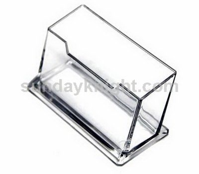 Acrylic business card holder SKBH-017