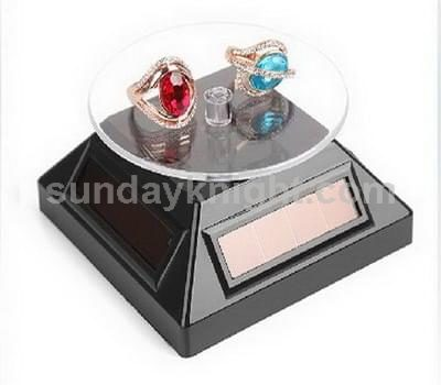 Solar powered rotating display stand SKJD-019