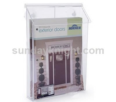 Outdoor brochure box