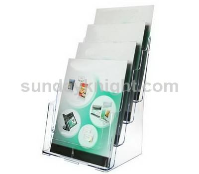 4 tier brochure holder