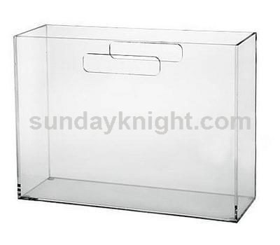 Acrylic file holder