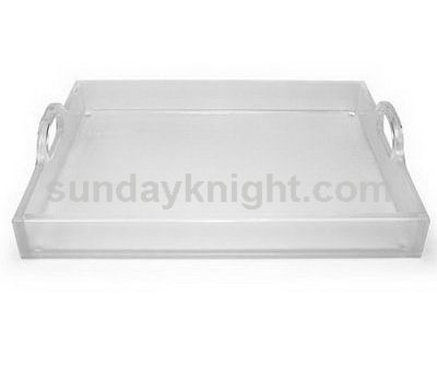Acrylic serving trays