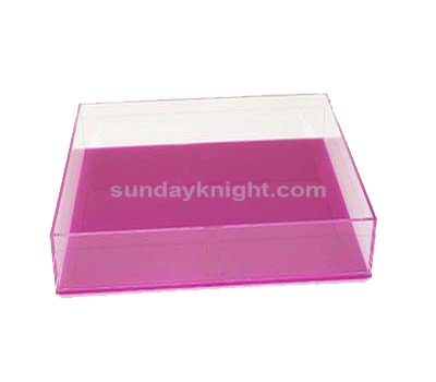 Perspex containers
