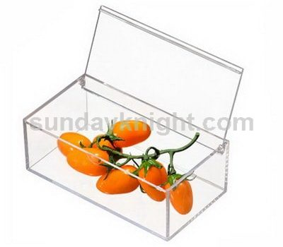 Acrylic food containers