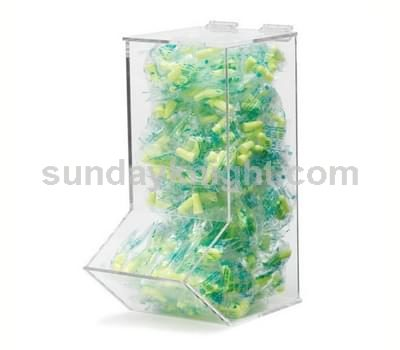 Clear candy dispenser
