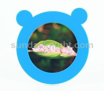 Teddy bear photo frame