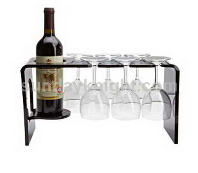 Wine glass shelf