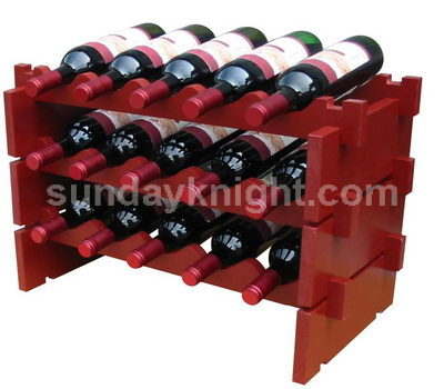 Bottle storage rack