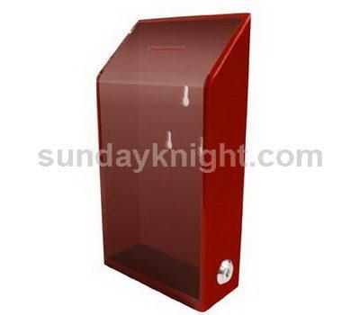 Wall mounted donation box SKAB-042-1
