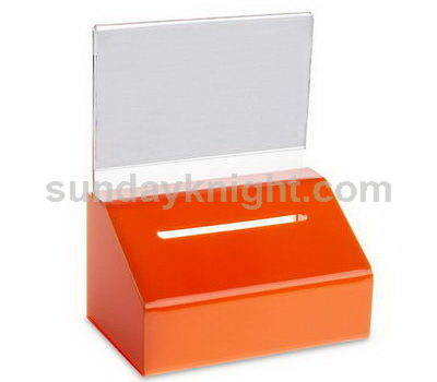Acrylic voting box