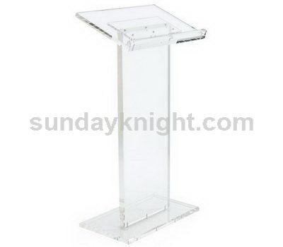 Acrylic pulpit