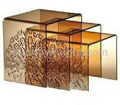 Acrylic nest of tables