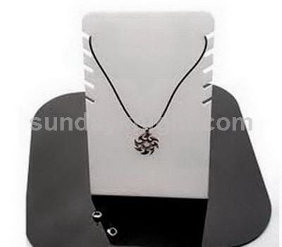 Perspex necklace stand