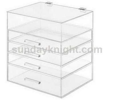 Clear drawer box