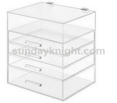 Clear drawer box