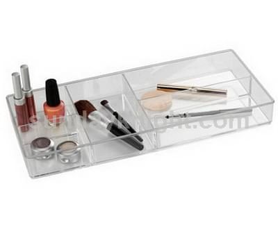 Makeup organizer tray