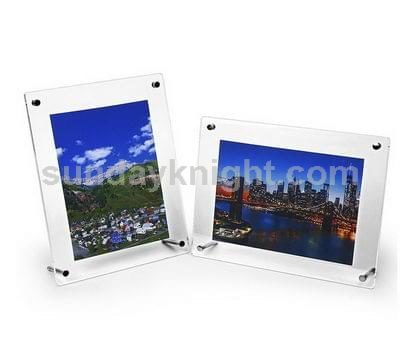 Tabletop acrylic picture frames