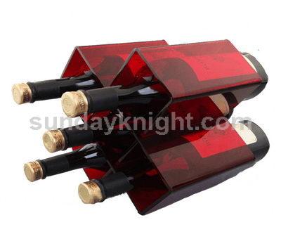 5 bottle wine holder