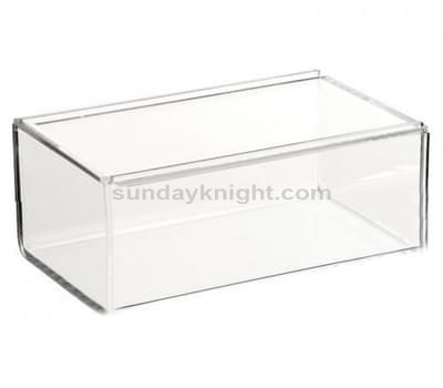 SKAB-051-1 acrylic box with sliding lid