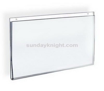 Wall mount acrylic sign holders